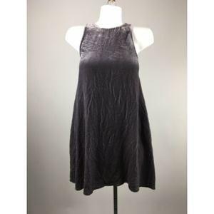 Wilfred Purple Velvet Sleeveless Keyhole Size XXS